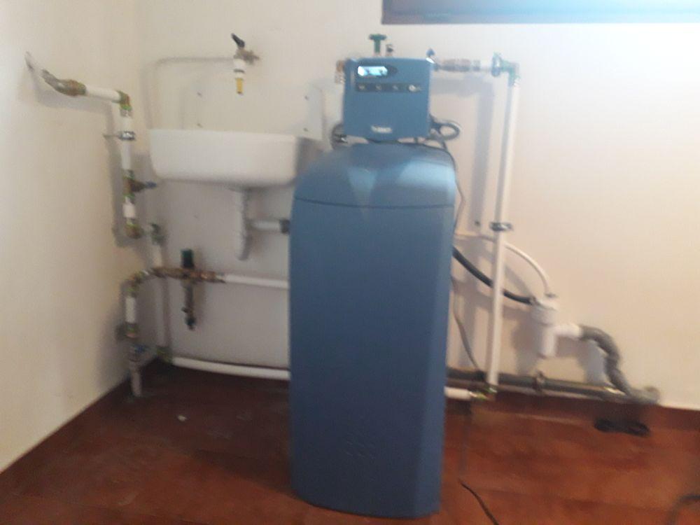 Vízlágyító beépítés családi ház rendszerébe
